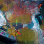 Sketchboard 1 - Acryl, Papier - 50 x 40 cm