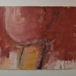 ohne Titel 3 - casein - 50 x 70 cm